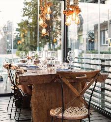 Terraza Acristalada Restaurante Teckel Madrid