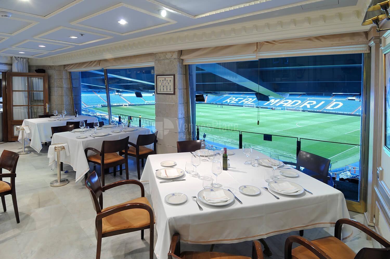 Celebra tu evento con vistas al Santiago Bernabéu en Restaurante Puerta 57 - Grupo La Máquina