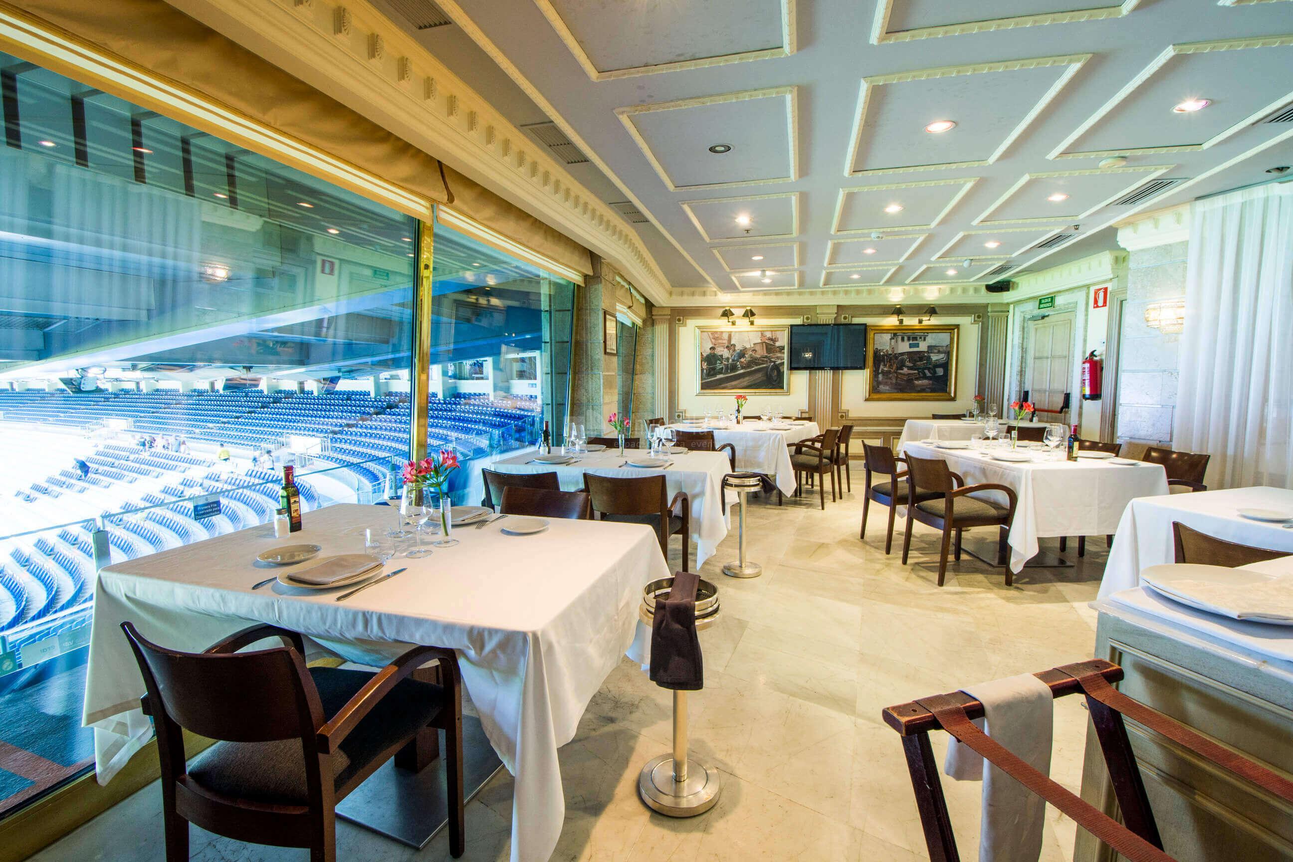 Restaurante puerta 57 grupo la m quina eventos exclusivos venuesplace - Restaurante puerta 57 madrid ...
