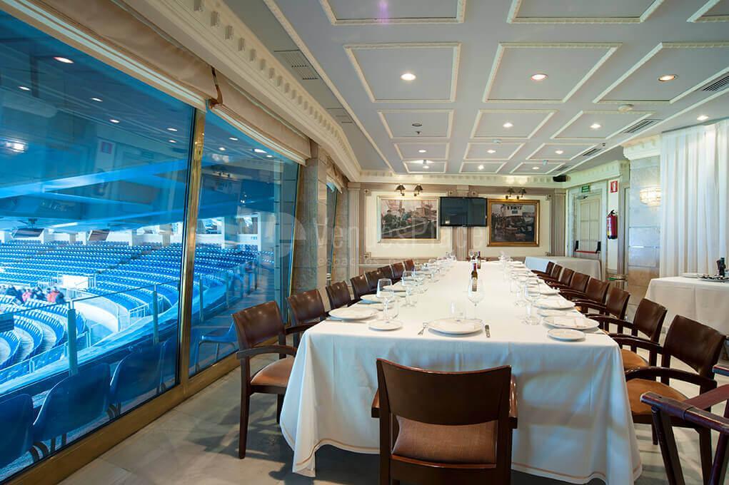 Restaurante puerta 57 grupo la m quina eventos for Puerta 8 bernabeu