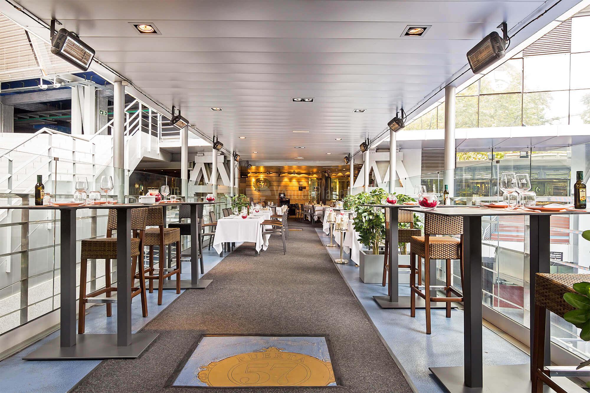 Espacios exclusivos para tus eventos en Restaurante Puerta 57 - Grupo La Máquina