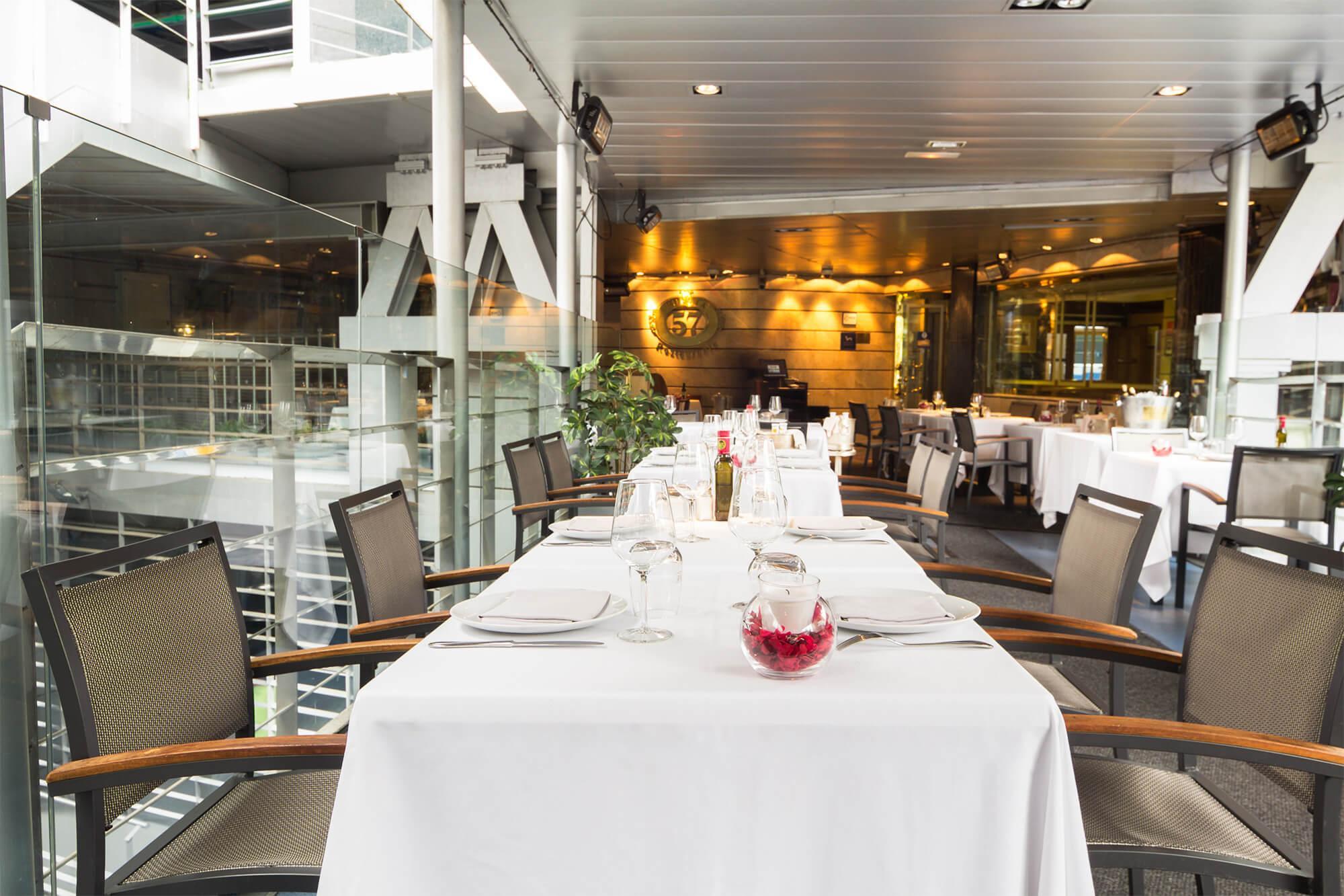 Disfruta de un evento exclusivo en la terraza de Restaurante Puerta 57 - Grupo La Máquina