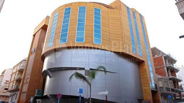 Exterior 1 en Palacio de la Música de Torrevieja