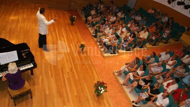 Montaje 1 en Palacio de la Música de Torrevieja