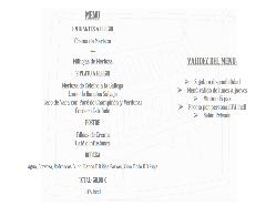 Menú empresas Restaurante Portonovo
