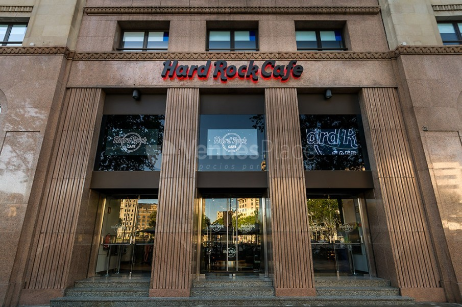 Exterior 1 en Hard Rock Cafe Barcelona