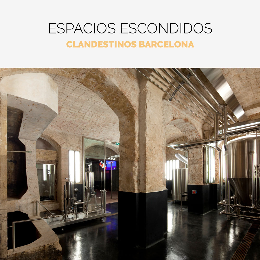 Espacios clandestinos Barcelona