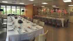 Salas Diagonal preparadas para un celebración