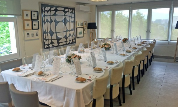 Sala Diagonal celebración Comunión mesa adultos
