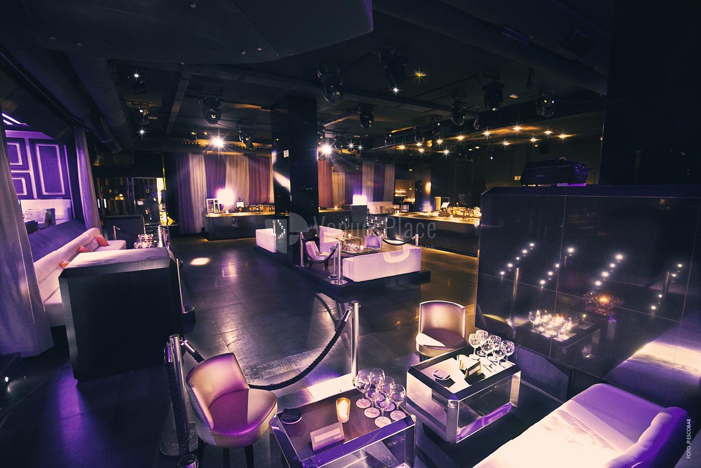 Sala para eventos Main Room Opium Madrid Eventos