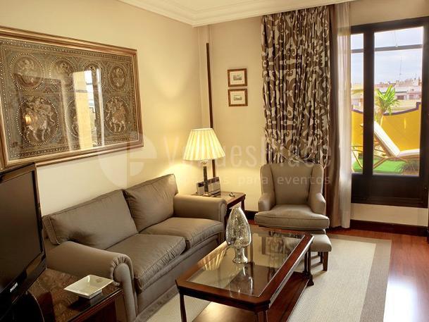 Interior 12 en Sercotel Gran Hotel Conde Duque