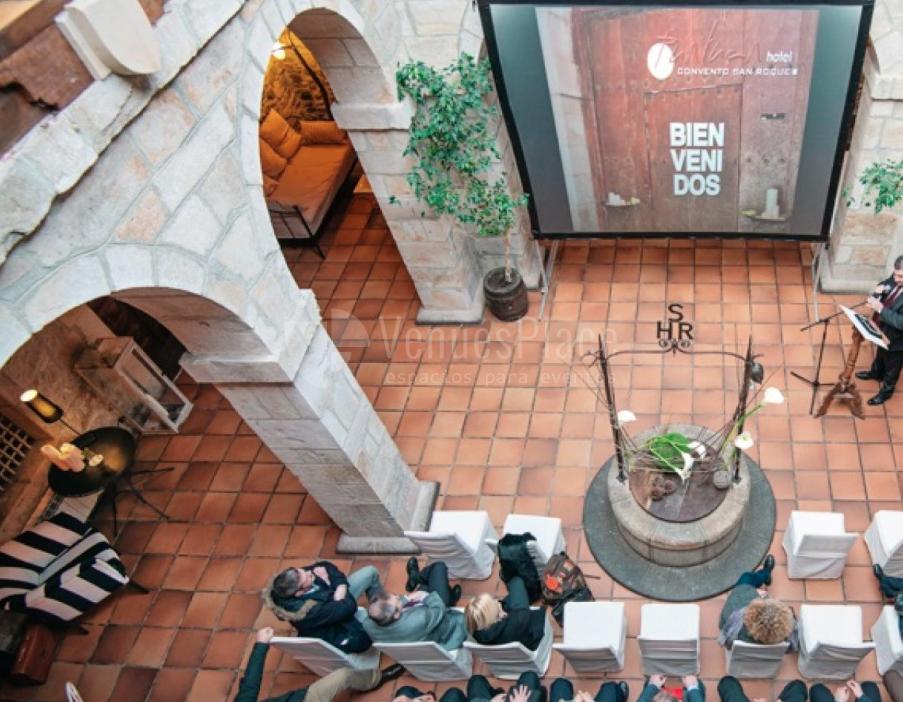 Eventos de empresas en Hotel Convento San Roque