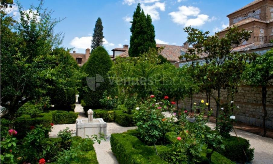 Jardines en Parador de Chinchón