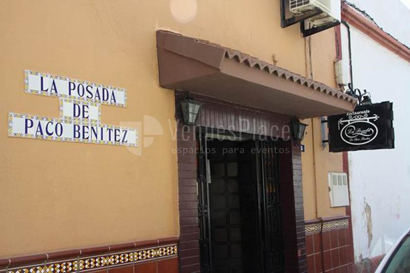 Exterior La Posada de Paco Benítez