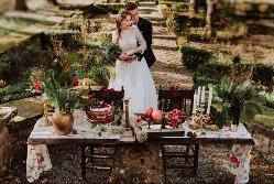 Montaje para bodas en Palacio de San Miguel