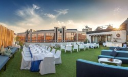 Terraza en Hotel SH Valencia Palace