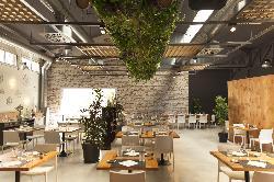 Sala principal de Roseta Restaurante