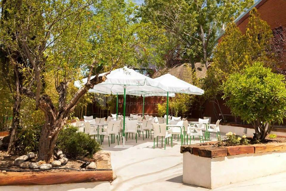 Celebra tu evento al aire libre en Roseta Restaurante