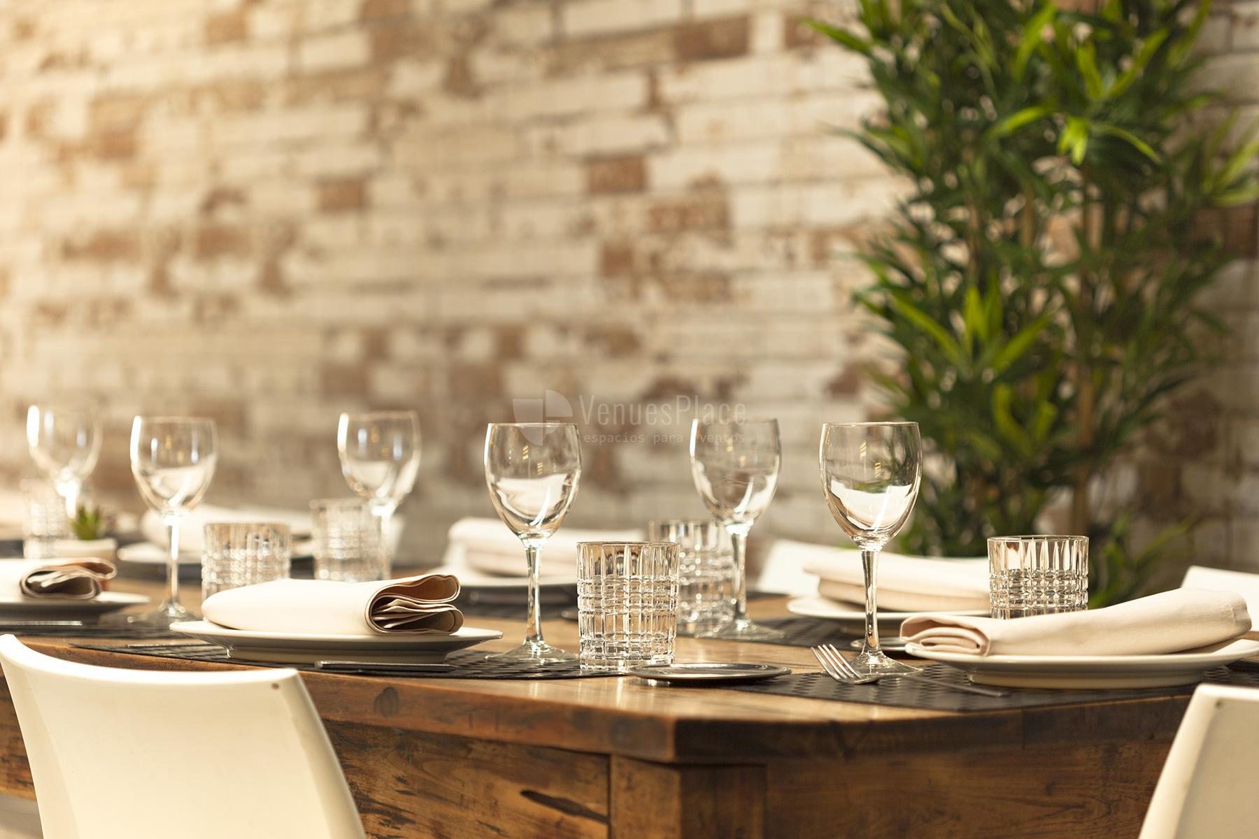 Tu evento a medida en Roseta Restaurante