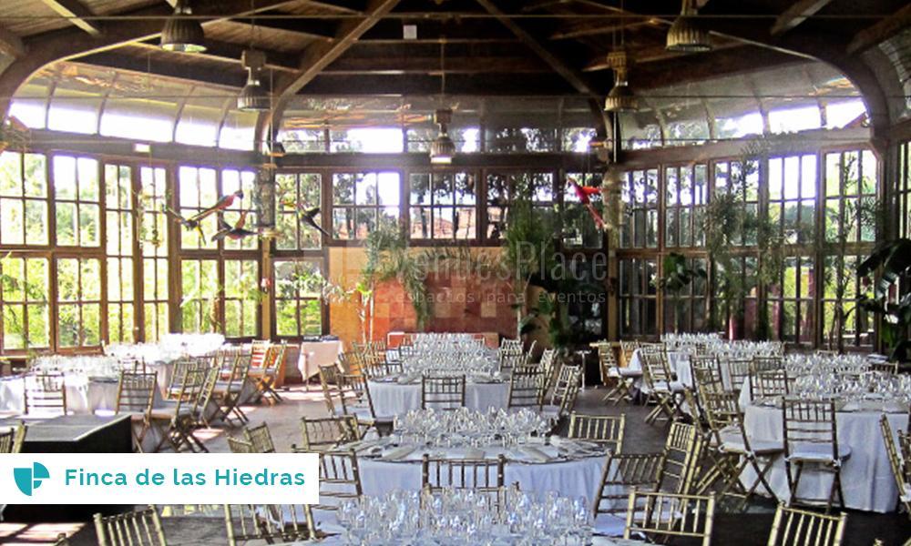 Invernaderos los espacios de moda para celebrar bodas - Espacios verdes logrono ...
