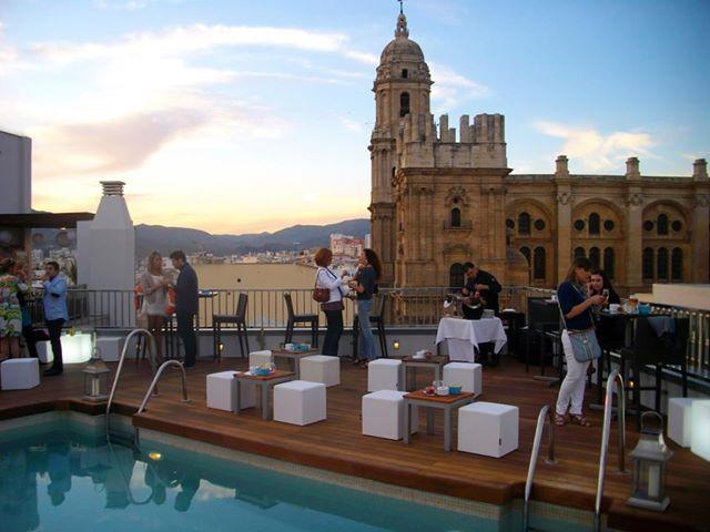 Málaga Y Sus Terrazas Un Paraíso Cerca Del Sol Venuesplace