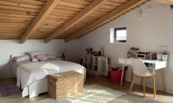 Dormitorio en planta alta en La Casona de Monterrey