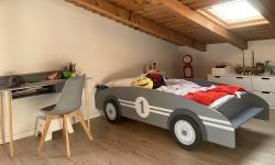 Dormitorio infantil en La Casona de Monterrey