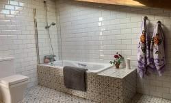 Baño planta alta en La Casona de Monterrey