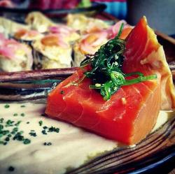 Gastronomía diferente en Happy River