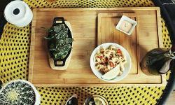 comida asiática en Happy River
