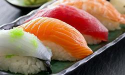 comida japonesa en Happy River