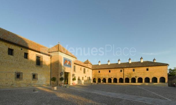Antiguo convento en Parador de Carmona