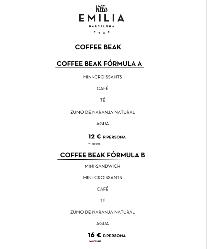 Coffee break/desayuno de trabajo en Hotel Villa Emilia