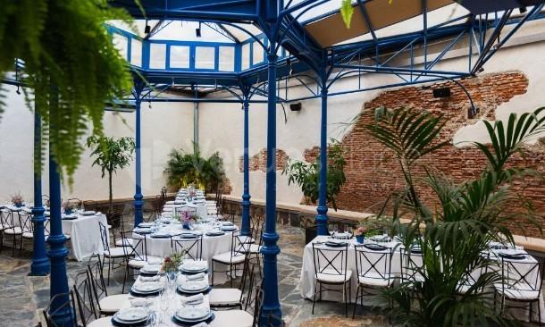 Salón decoración Antigua Champanería