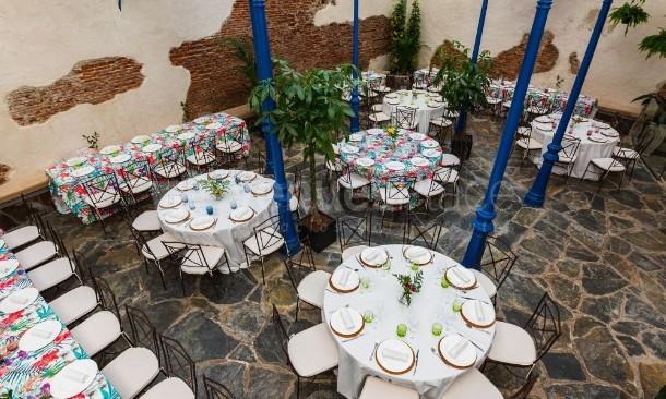 Vistas salón Antigua Champanería