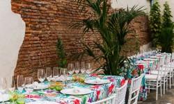 Mesa decoración evento La Antigua c.