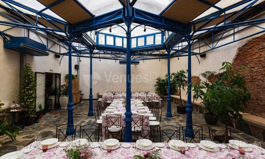 Vistas salón decoración La Antigua c.