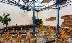 Montaje evento con sillas La Antigua c.