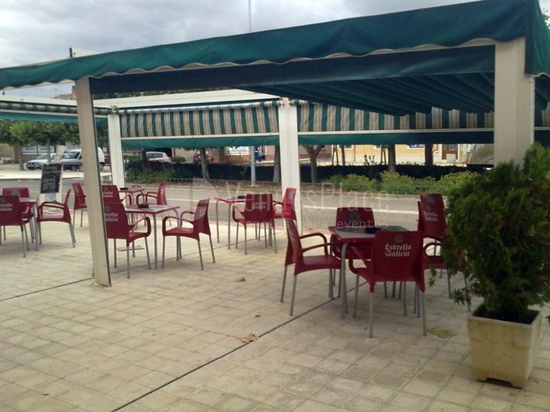 TERRAZA DEL Restaurante Villa de Frómista