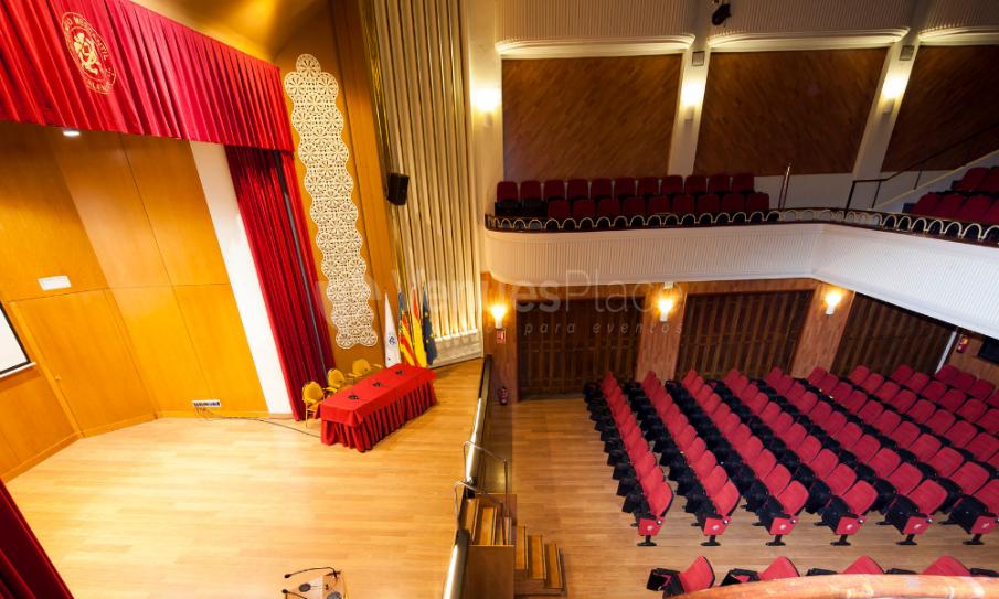Interior 1 en Ateneo Mercantil - Eventos Corporativos en Valencia