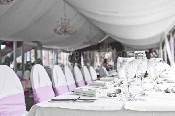 Montaje para comuniones, bodas, bautizos y otras celebraciones en Casa Lercaro Orotova