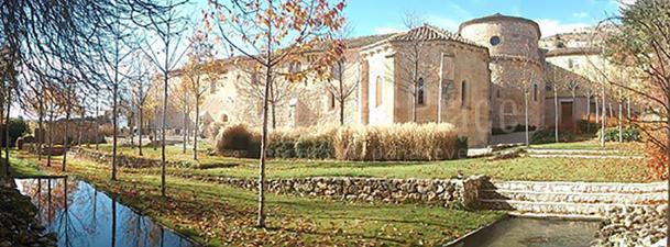Exterior Monasterio Tortoles de Esgueva