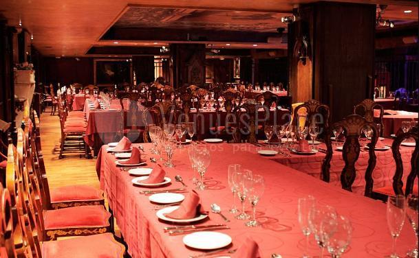 Comidas y cenas de empresa en Alegoría