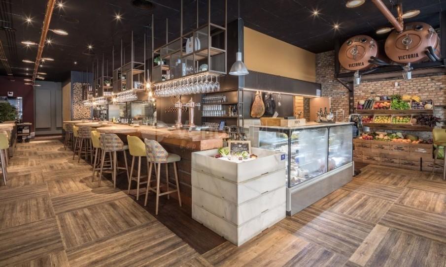 Interior Restaurante Palocortado