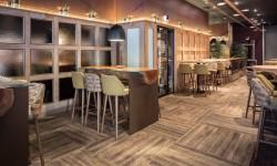 Interior mesas y sillas Restaurante Palocortado