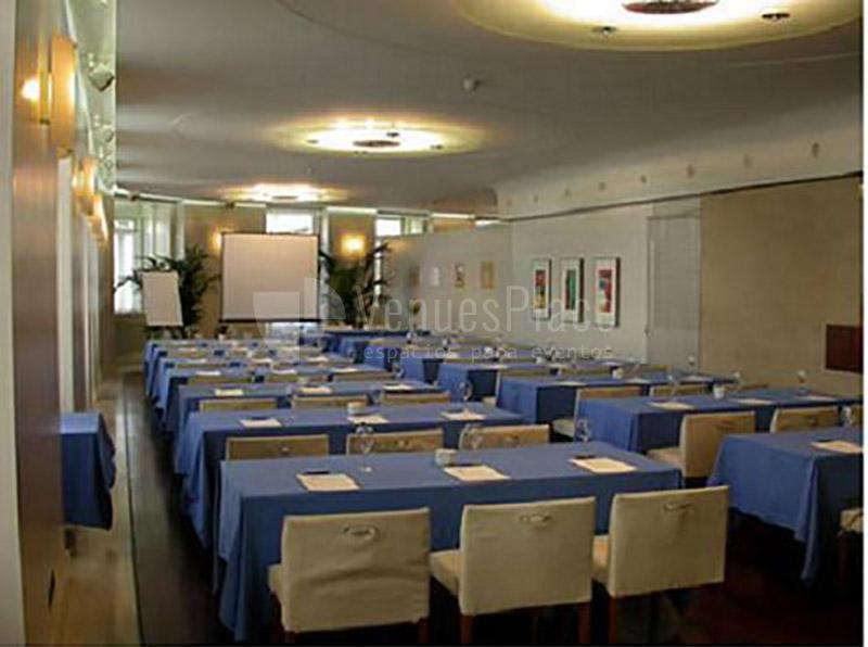 Interior Gran Hotel de Albacete