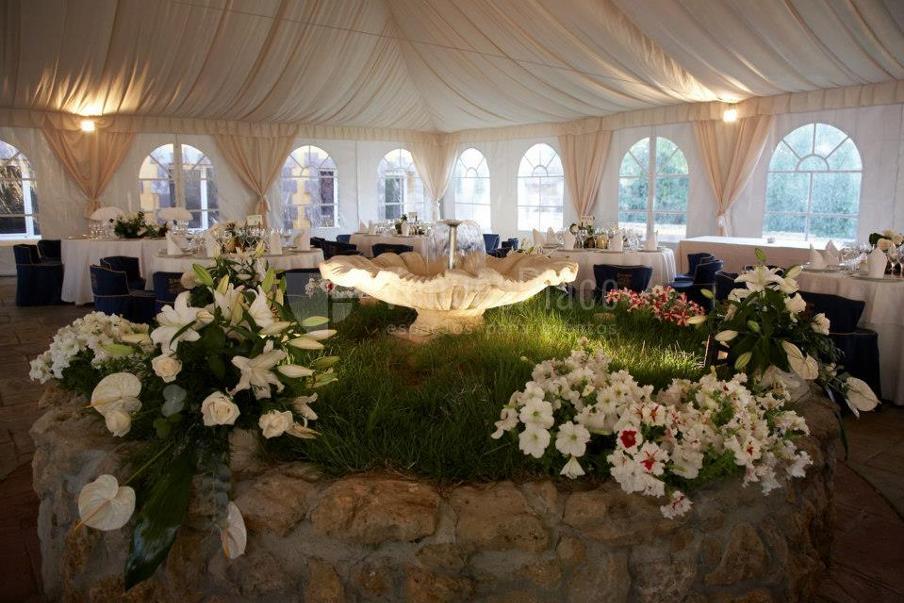 Montaje de bodas en Restaurante El Bohío