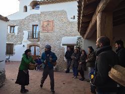 Representaciones teatrales en Mas Llagostera