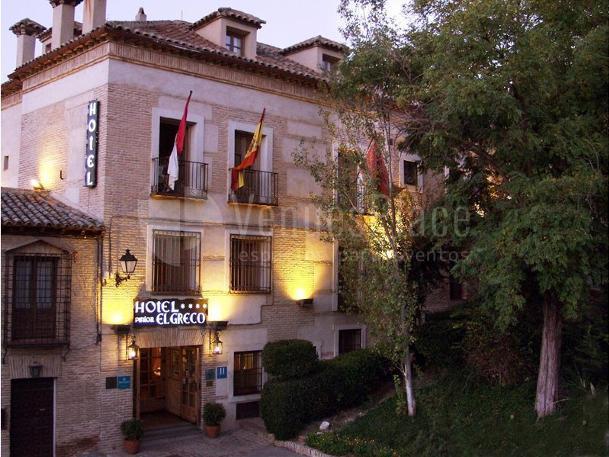 Hotel Pintor El Greco eventos de empresa y particulares