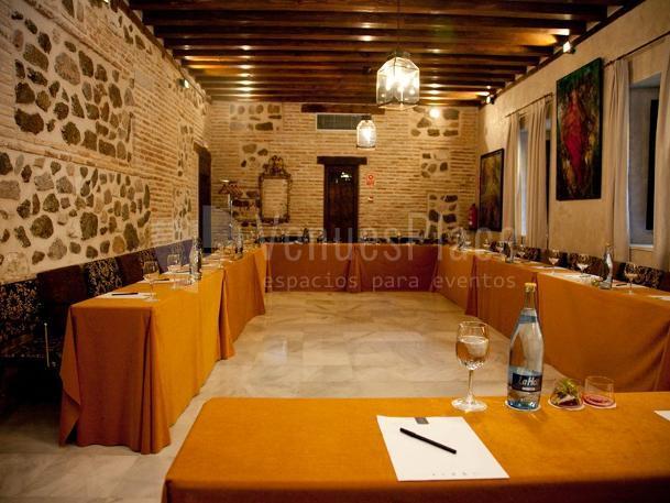 Montaje en U para eventos de empresa en Hotel Pintor El Greco